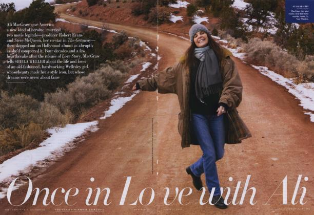 Article Preview: Once in Love with Ali, March 2010 | Vanity Fair