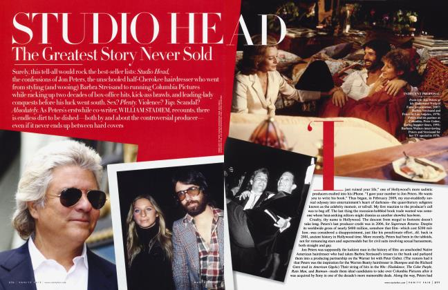 Article Preview: STUDIO HEAD The Greatest Story Never Sold, March 2010 | Vanity Fair