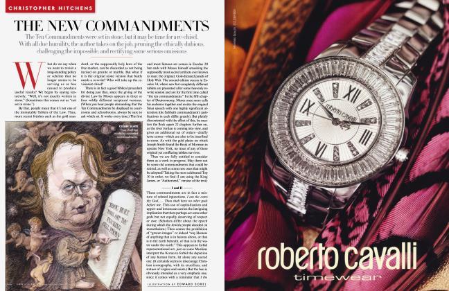 Article Preview: THE NEW COMMANDMENTS, April 2010 2010 | Vanity Fair