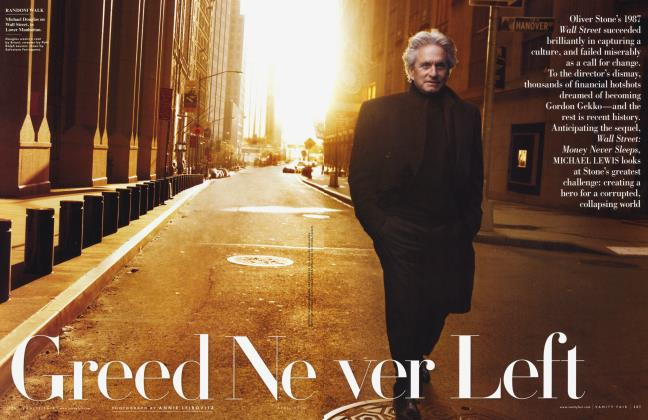 Article Preview: Greed Never Left, April 2010 2010 | Vanity Fair