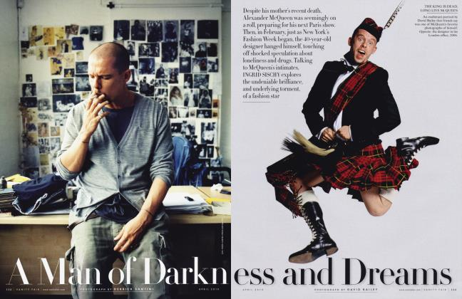 Article Preview: A Man of Darkness and Dreams, April 2010 2010 | Vanity Fair