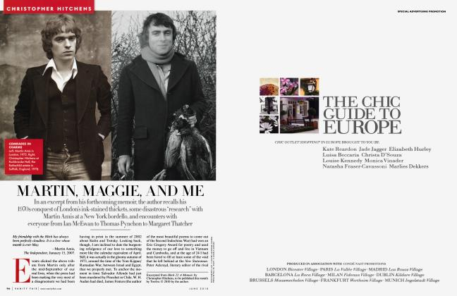Article Preview: MARTIN, MAGGIE, AND ME, June 2010 2010 | Vanity Fair