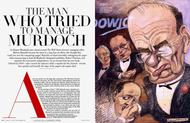Article Preview: THE MAN WHO TRIED TO MANAGE MURDOCH, June 2010 2010 | Vanity Fair