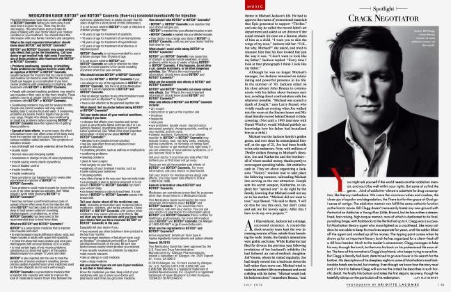 Article Preview: CRACK NEGOTIATOR, July 2010 2010   Vanity Fair