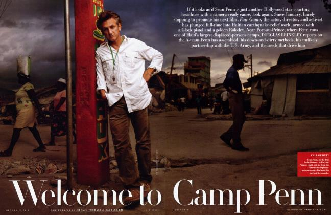 Article Preview: Welcome to Camp Penn, July 2010 | Vanity Fair