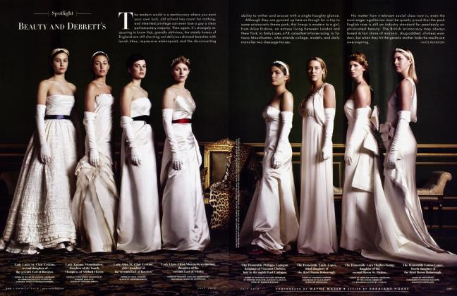 Article Preview: BEAUTY AND DEBRETT'S, July 2010 2010   Vanity Fair