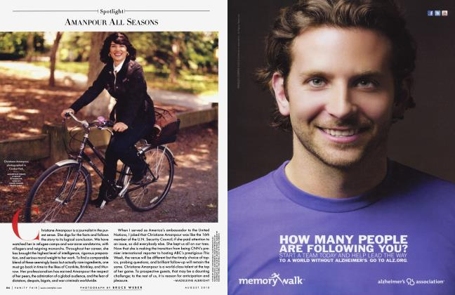 Article Preview: AMANPOUR ALL SEASONS, August 2010 2010 | Vanity Fair