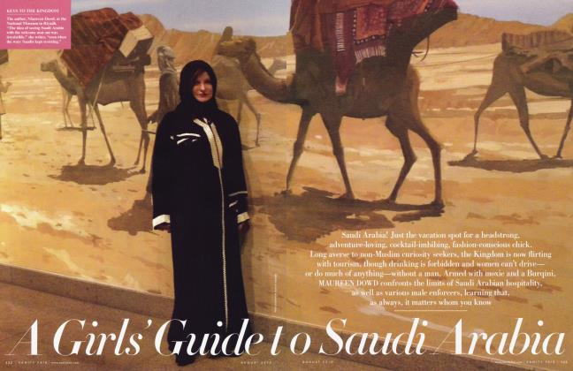 Article Preview: A Girls' Guide to Saudi Arabia, August 2010 2010 | Vanity Fair