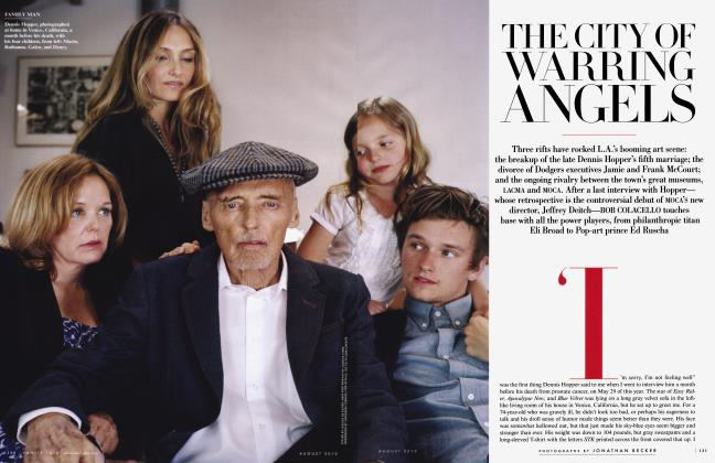 Article Preview: THE CITY OF WARRING ANGELS, August 2010 2010 | Vanity Fair