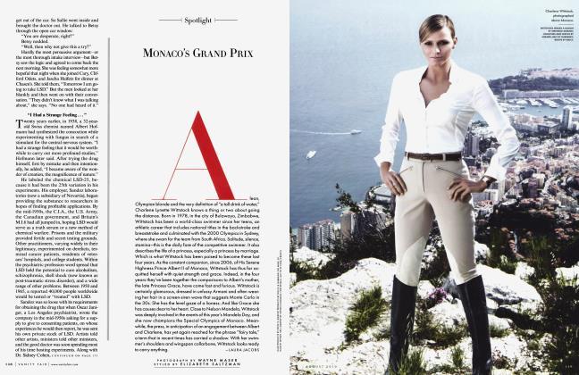 Article Preview: MONACO'S GRAND PRIX, August 2010 2010   Vanity Fair