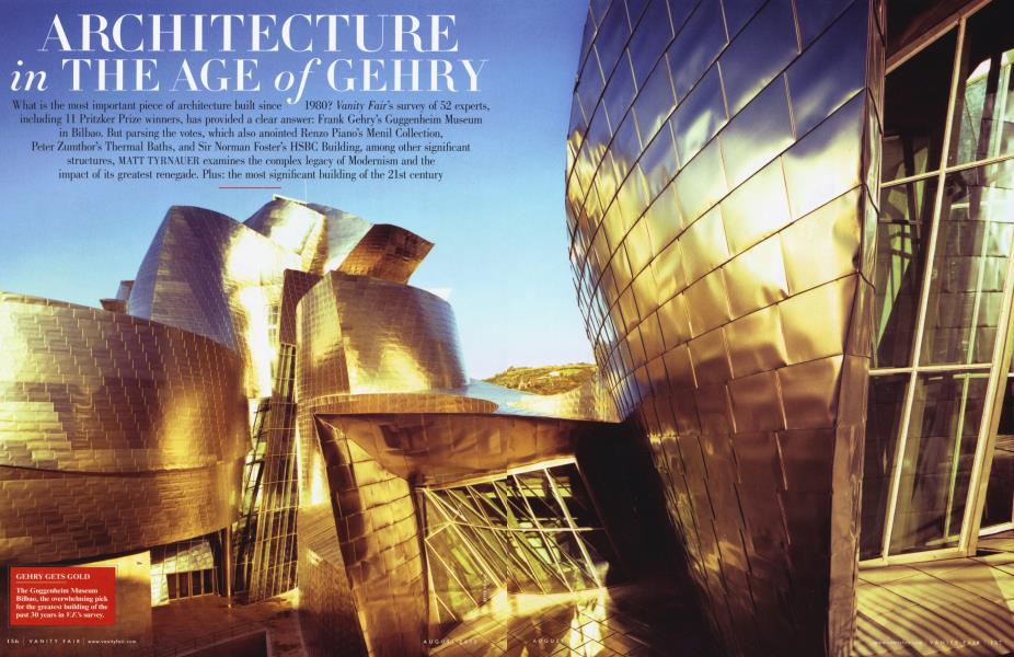 ARCHITECTURE in THE AGE of GEHRY