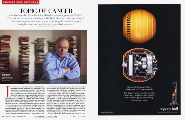 Article Preview: TOPIC OF CANCER, September 2010 2010 | Vanity Fair