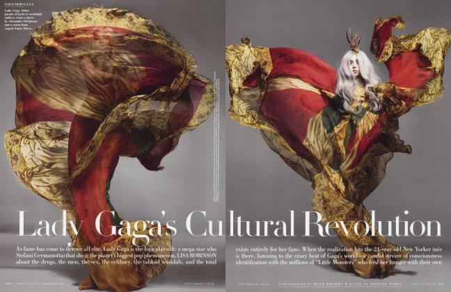 Article Preview: Lady Gaga's Cultural Revolution, September 2010 2010 | Vanity Fair
