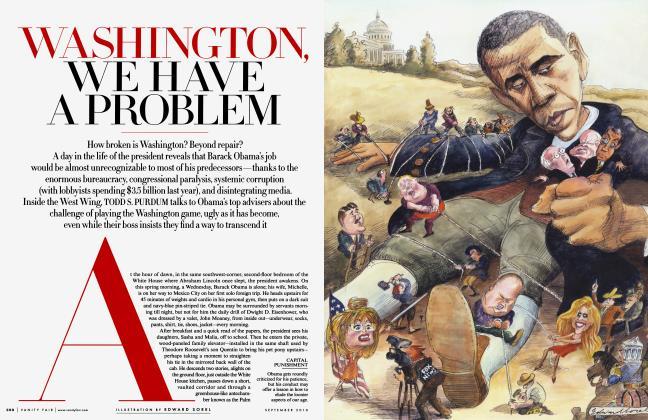 WASHINGTON, WE HAVE A PROBLEM