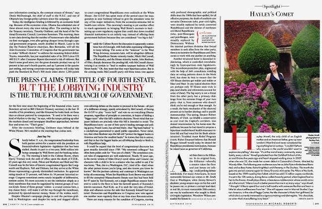 Article Preview: HAYLEY'S COMET, September 2010 2010 | Vanity Fair
