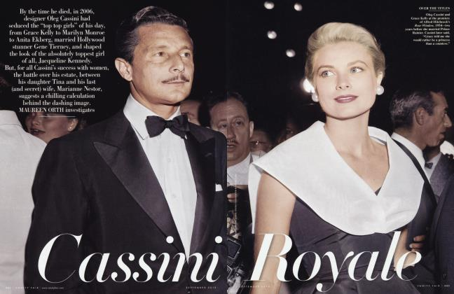 Article Preview: Cassini Royale, September 2010 2010 | Vanity Fair