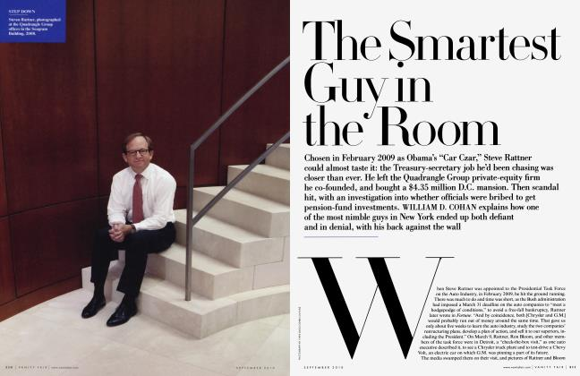 Article Preview: The Smartest Guy in the Room, September 2010 2010 | Vanity Fair