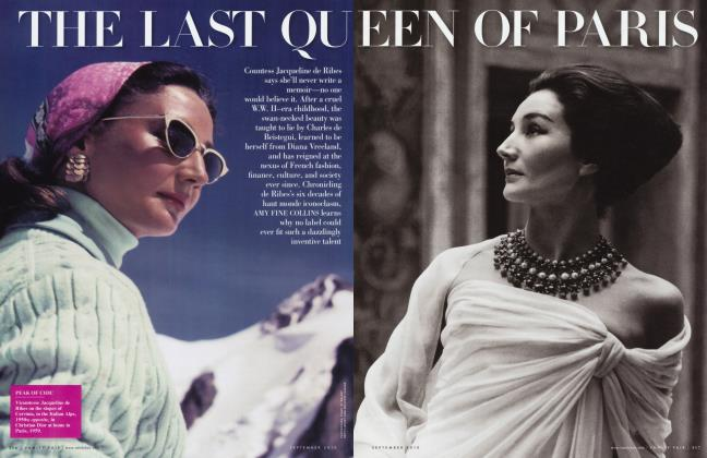 Article Preview: THE LAST QUEEN OF PARIS, September 2010 2010 | Vanity Fair