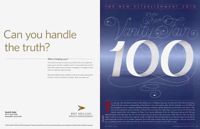 Article Preview: The Vanity Fair 100, October 2010 | Vanity Fair