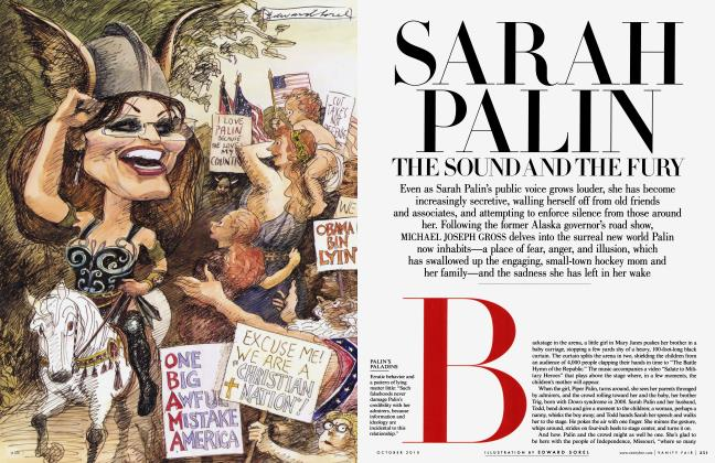 Article Preview: SARAH PALIN: THE SOUND AND THE FURY, October 2010 | Vanity Fair