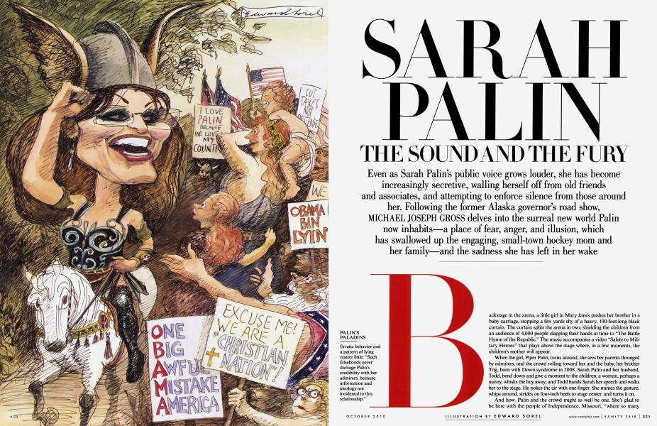 SARAH PALIN: THE SOUND AND THE FURY