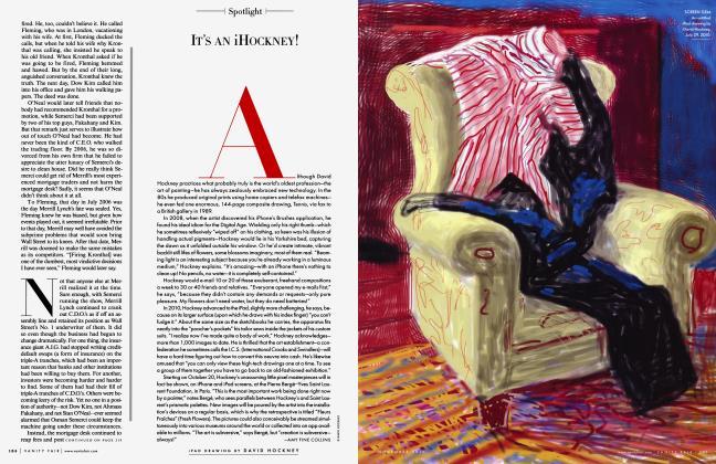 Article Preview: IT'S AN IHOCKNEY!, NOVEMBER 2010 2010 | Vanity Fair