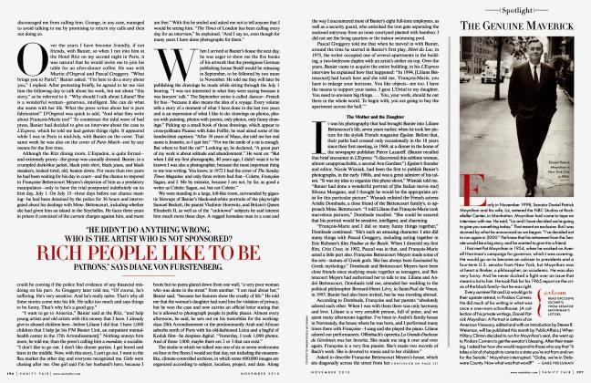 Article Preview: THE GENUINE MAVERICK, NOVEMBER 2010 2010 | Vanity Fair