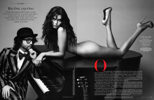 Article Preview: HIS ONE AND ONO, NOVEMBER 2010 2010 | Vanity Fair