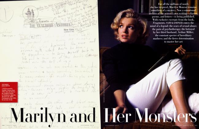 Article Preview: Marilyn and Her Monsters, NOVEMBER 2010 2010 | Vanity Fair