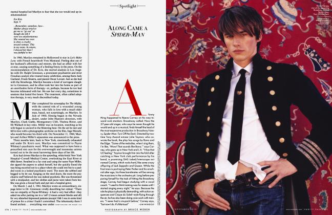 Article Preview: ALONG CAME A SPIDER-MAN, NOVEMBER 2010 2010 | Vanity Fair