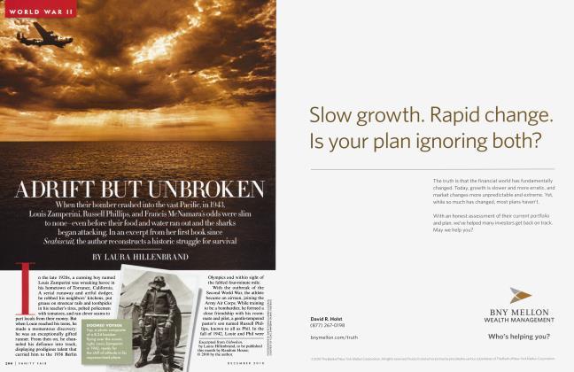 Article Preview: ADRIFT BUT UNBROKEN, December 2010 2010 | Vanity Fair