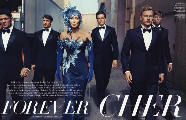 Article Preview: FOREVER CHER, December 2010 2010 | Vanity Fair