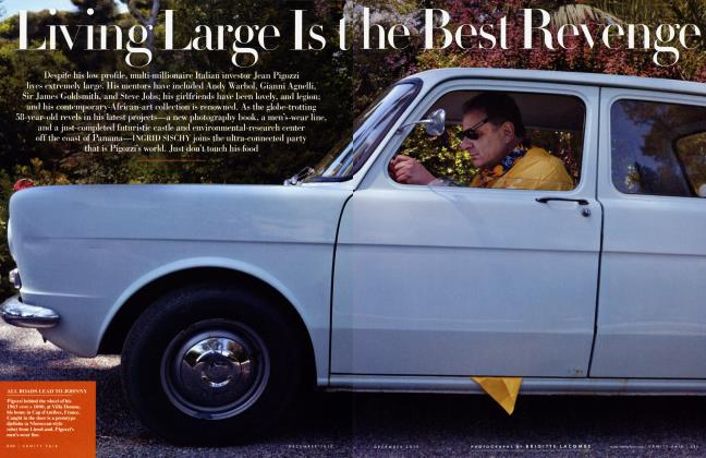 Article Preview: Living Large Is the Best Revenge, December 2010 2010 | Vanity Fair