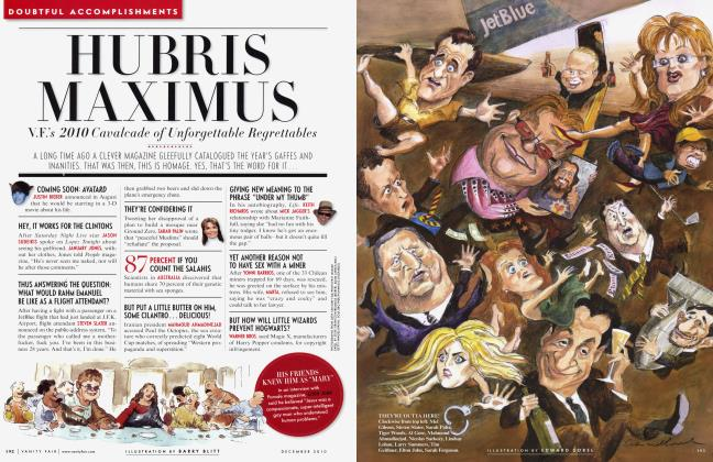 Article Preview: HUBRIS MAXIMUS, December 2010 2010 | Vanity Fair