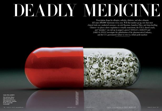 Article Preview: DEADLY MEDICINE, January 2011 | Vanity Fair