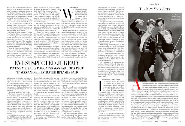 Article Preview: THE NEW YORK JETÉS, January 2011 2011 | Vanity Fair