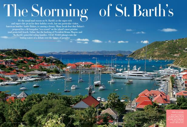 Article Preview: The Storming of. St. Barth's, January 2011 | Vanity Fair