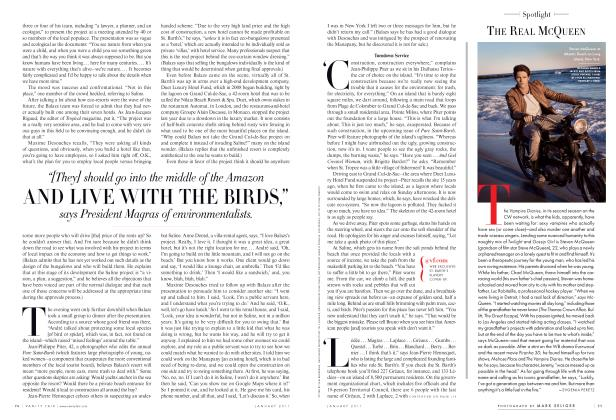 Article Preview: THE REAL MCQUEEN, January 2011 2011 | Vanity Fair