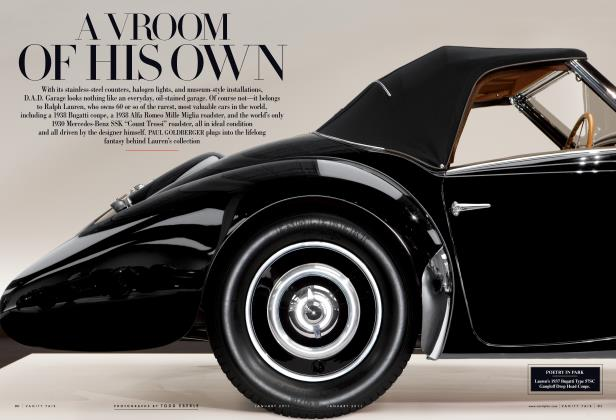 Article Preview: A VROOM OF HIS OWN, January 2011 | Vanity Fair