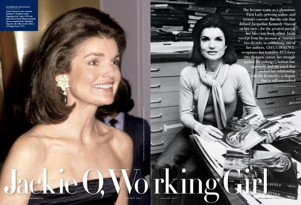 Article Preview: Jackie O, Working Girl, January 2011 2011 | Vanity Fair