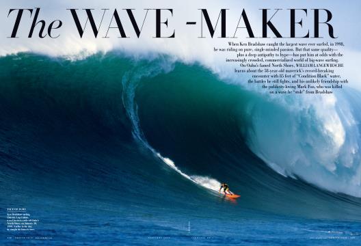 The WAVE-MAKER - February | Vanity Fair