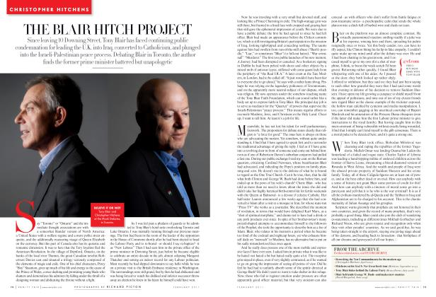 Article Preview: THE BLAIR HITCH PROJECT, February 2011 2011 | Vanity Fair
