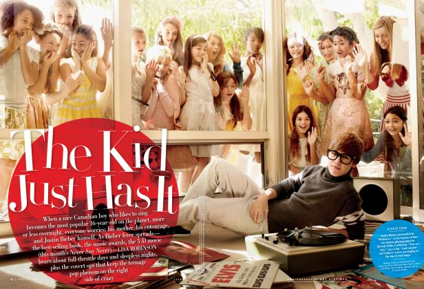 Article Preview: The Kid Just Has It, February 2011 | Vanity Fair