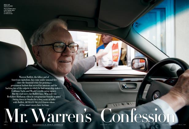 Article Preview: Mr. Warren's Confession, February 2011 | Vanity Fair