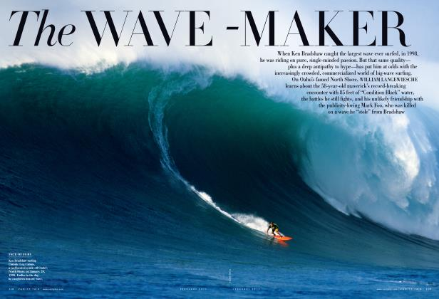 Article Preview: The WAVE-MAKER, February 2011 | Vanity Fair