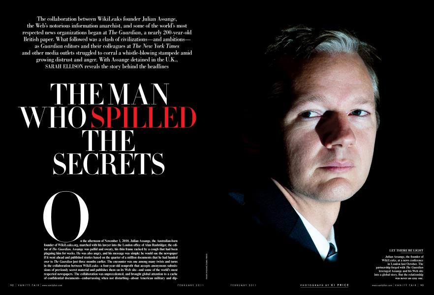 THE MAN WHO SPILLED THE SECRETS