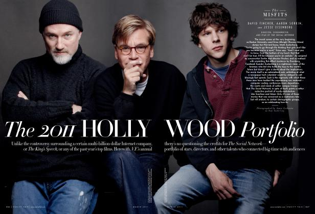 Article Preview: The 2011 HOLLYWOOD Portfolio, March 2011 | Vanity Fair