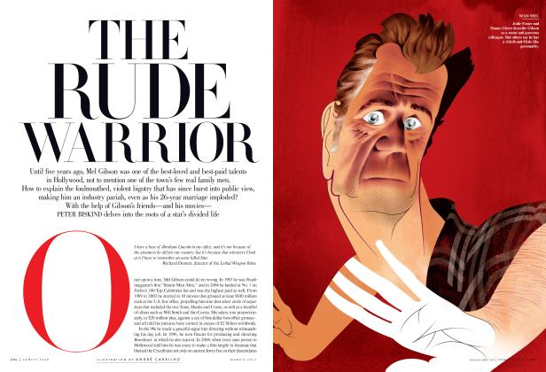 Article Preview: THE RUDE WARRIOR, March 2011 | Vanity Fair
