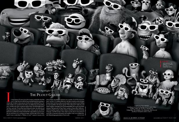 Article Preview: THE PEANUT GALLERY, March 2011 2011 | Vanity Fair