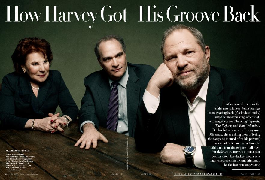 How Harvey Got His Groove Back